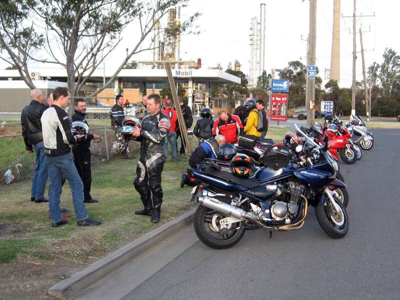 Nigel's 2008 Night ride