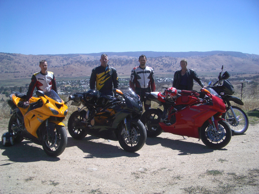 Darren's 'Brokebike Mountain' Australia Day tour