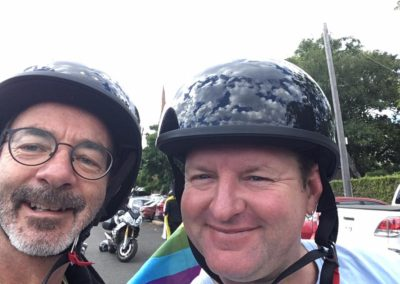Daylesford Chillout Festival Parade Ride