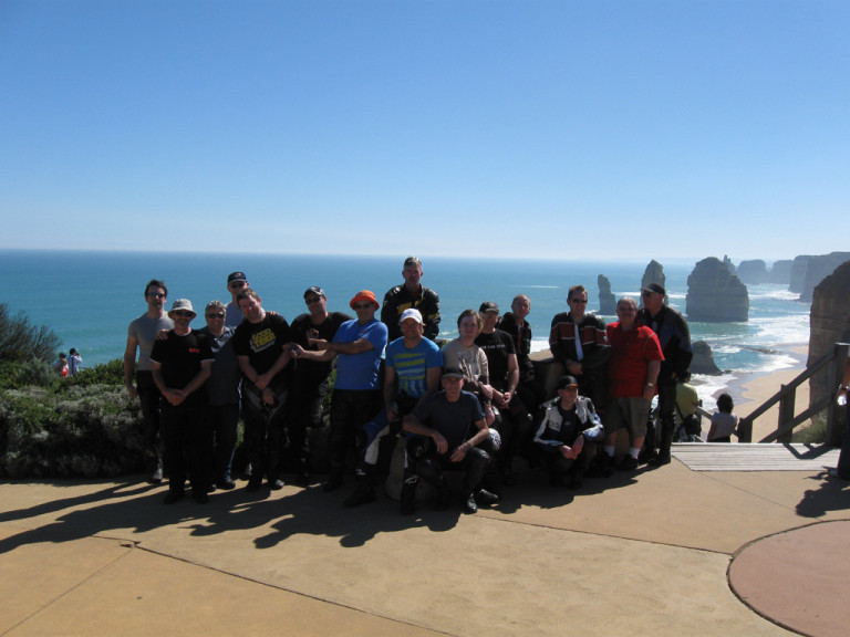 Melbourne Motorcycle Tourers conquer South Australia!