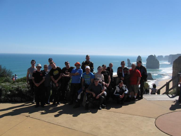 Melbourne Motorcycle Tourers conquer South Australia!
