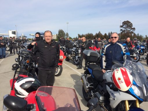 David P's '3rd Blessing of the Bikes' Ride